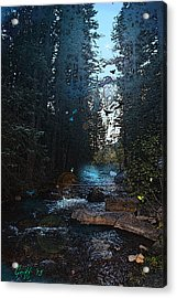 Colorado Fairyland Acrylic Print by J Griff Griffin