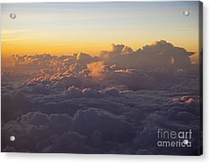 Colorful Clouds Acrylic Print by Brian Jannsen