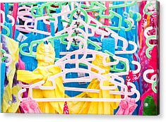 Colorful Tops Acrylic Print