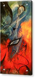 Colours From Outer Space Acrylic Print by Garrick Allan