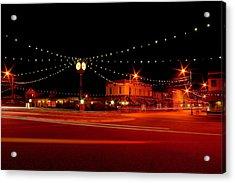 Columbiana Ohio Christmas Acrylic Print