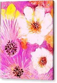 Come Spring Acrylic Print by Anne-Elizabeth Whiteway