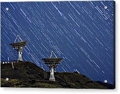 Communications To The Stars Acrylic Print by James BO  Insogna