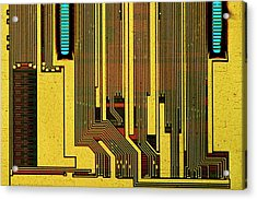 Computer Ram Module Acrylic Print by Antonio Romero