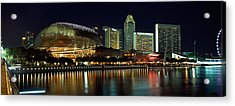 Concert Hall At The Waterfront Acrylic Print by Panoramic Images