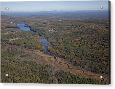 Concord Outskirts, New Hampshire Acrylic Print