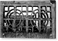Concrete Window Acrylic Print by Christopher Lugenbeal