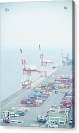 Container Institution Acrylic Print