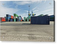 Containers Freight Acrylic Print