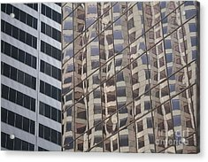 Acrylic Print featuring the photograph Convergence  by Lynn England