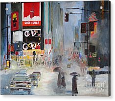 Cool New York Acrylic Print