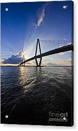 Cooper River Bridge Charleston Sc Acrylic Print by Dustin K Ryan