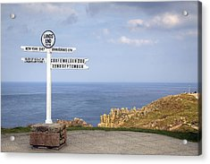 Cornwall - Land's End Acrylic Print