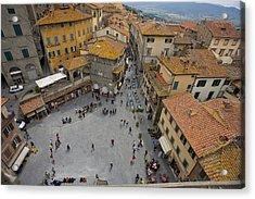 Cortona Piazza 2 Acrylic Print