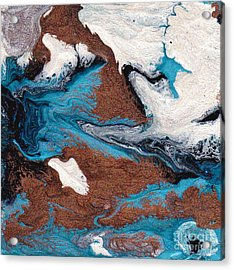 Cosmic Blend One Acrylic Print by M West