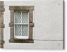 Cottage Window Acrylic Print