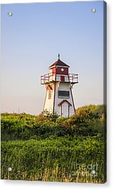 Covehead Harbour Lighthouse Acrylic Print by Elena Elisseeva