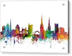 Coventry England Skyline Acrylic Print