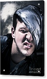 Crazy About Garbage Acrylic Print