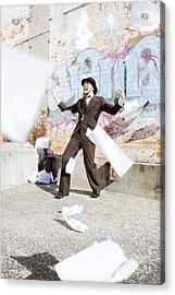 Creative Release Acrylic Print by Jorgo Photography - Wall Art Gallery