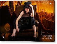 Creative Underground Fashion Photo Illustration Acrylic Print by Jorgo Photography - Wall Art Gallery