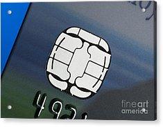 Credit Card Microchip Acrylic Print