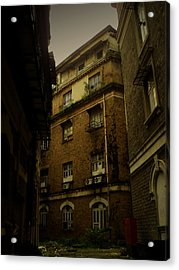 Crime Alley Acrylic Print by Salman Ravish