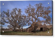 Cripple Creek Barn Acrylic Print