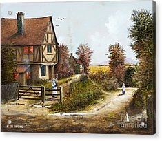 Cropthorne - Worcester Acrylic Print