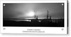 Crosby's Landing Acrylic Print