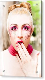 Crying Doll Acrylic Print by Jorgo Photography - Wall Art Gallery