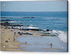 Acrylic Print featuring the photograph Crystal Cove Beach by Joseph Hollingsworth