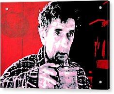 Cup Of Good Morning America Acrylic Print by Luis Ludzska