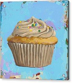 Cupcake #1 Acrylic Print by David Palmer