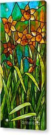 Daffodil Day Acrylic Print by David Kennedy
