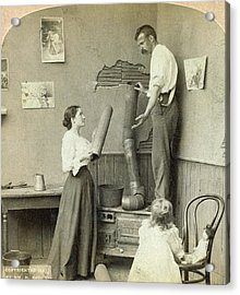 Daily Life Chores, C1897 Acrylic Print by Granger
