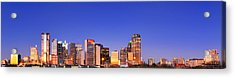Acrylic Print featuring the photograph Dallas At Dawn by David Perry Lawrence