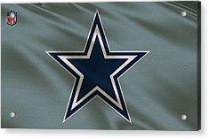Dallas Cowboys Uniform Acrylic Print