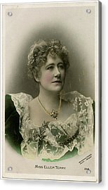 Dame Ellen Alice Terry (1847 - 1928) Acrylic Print by Mary Evans Picture Library