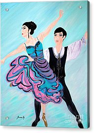 Dance. Inspirations Collection. Acrylic Print