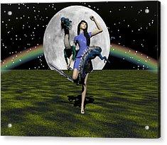 Dance Partners Acrylic Print