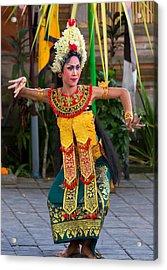 Dancer - Bali Acrylic Print