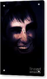 Dark Creepy And Spooky Undead Pirate Acrylic Print