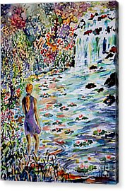 Daughter Of The River Acrylic Print