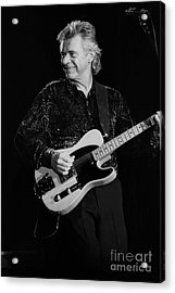 Dave Edmunds Acrylic Print by Concert Photos