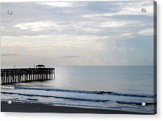 Acrylic Print featuring the photograph Daybreak At Pawleys Island by Frank Bright