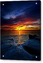 Daybreak Acrylic Print by Phil Koch