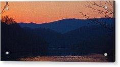 Days End Acrylic Print by Tom Culver