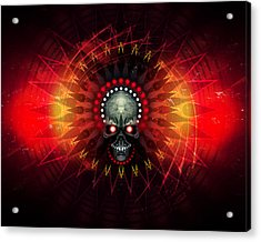 Deadstep - Hellfire Remix Acrylic Print by George Smith