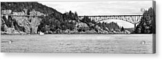 Deception Pass Bridge Acrylic Print